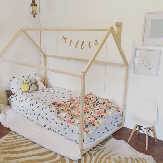 Childrens room. toddler bed, house bed, tent bed, children bed, wooden house, wood house, wood nursery, kids teepee bed, wood bed frame, wood house bed