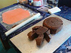Pink Sackboy cake (Tim and Rachel Furnish) Tags: birthday cake birthdaycake foodanddrink littlebigplanet sackboy