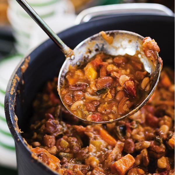 Vegetarian Chili #MeatlessMonday