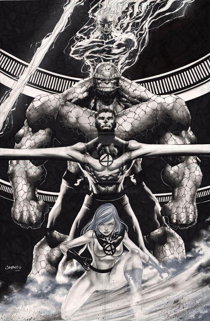 The Fantastic Four by Jimbo02Salgado.deviantart.com on @deviantART