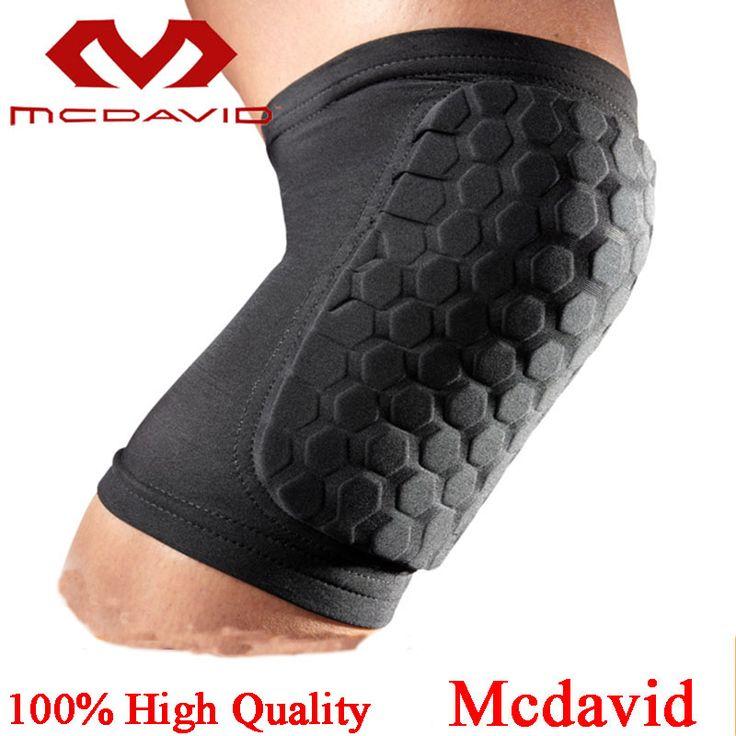 100% Top Mcdavid Dizlik Basketball Leg Sleeve Breathable Sports Honeycomb Pad Bumper Barce Kneelet Protectores Knee Pads For Men