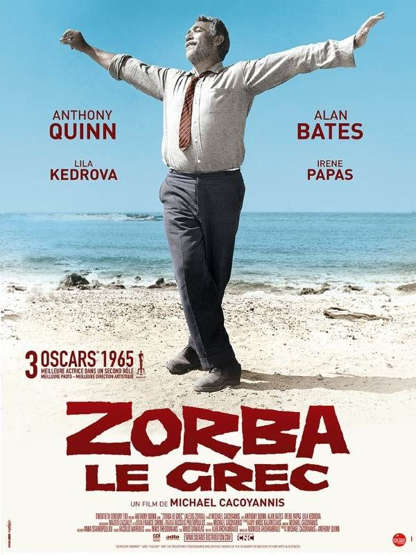 #Zorba le grec #Michael Cacoyannis #Anthony Quinn