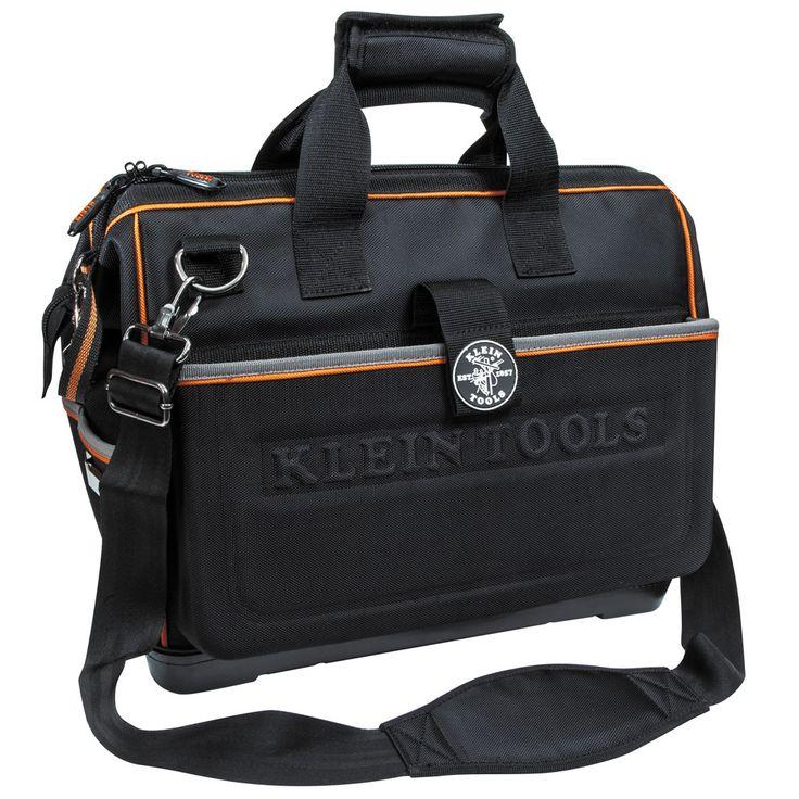 Klein Tools Tradesman Pro Organizer Hacksaw Electrician Bag