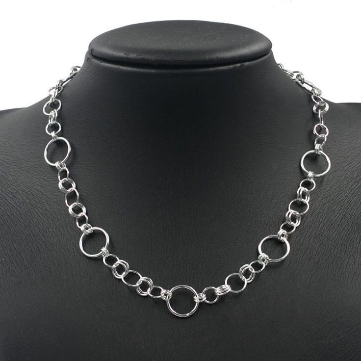 Buy our Australian made Sterling Silver Necklace - Courtlyn online. Explore our range of custom made chain jewellery, rings, pendants, earrings and charms.