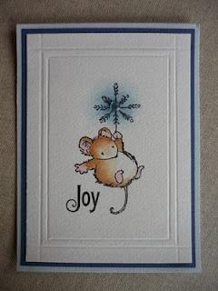 Weihnachten Maus