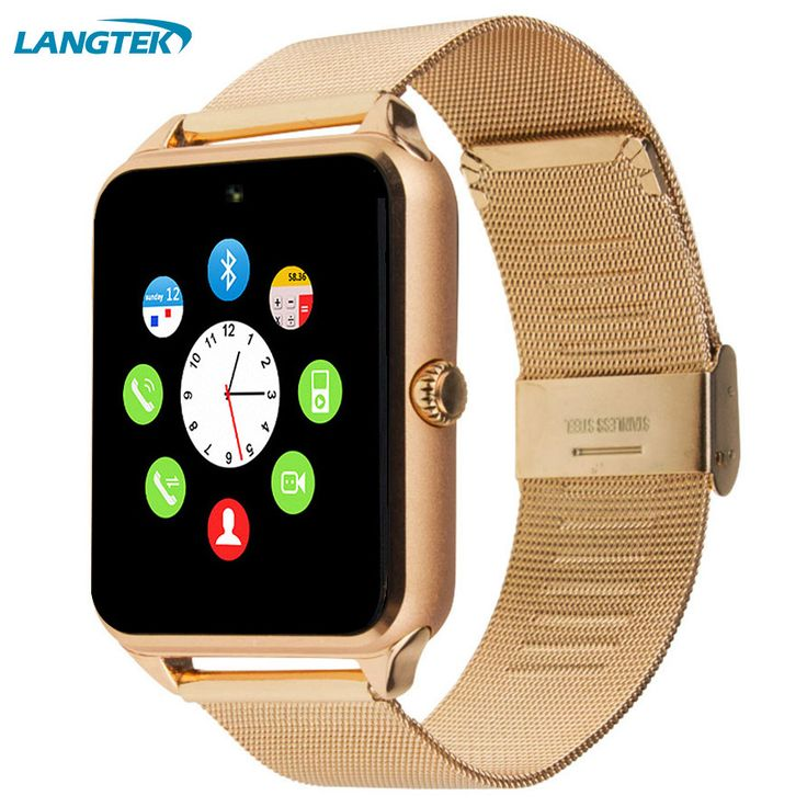 LANGTEK GT08 Bluetooth Smart Watch Clock Sync Notifier support SIM TF Card Connectivity Apple iphone Android Phone Smartwatch