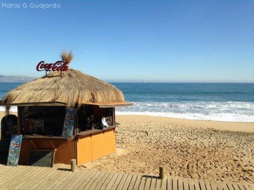 Playa en Viña del Mar Chile