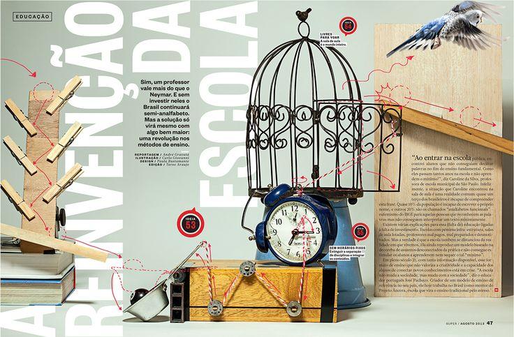 For Superinteressante magazine.Illustration: Carlo Giovanni / Design: Paula Bustamante