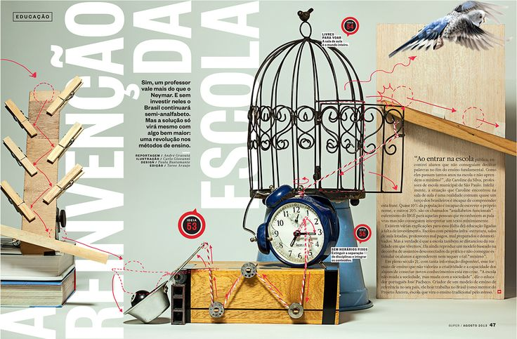 For Superinteressante magazine.Illustration: Carlo Giovanni / Design: Paula Bustamante