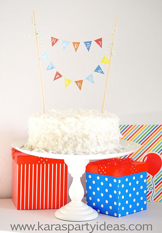 235 best images about free mini cake bunting printable on on cake birthday banner