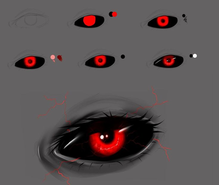 Drawing ghoul eyes for Tokyo ghoul. | Drawing tips and ...