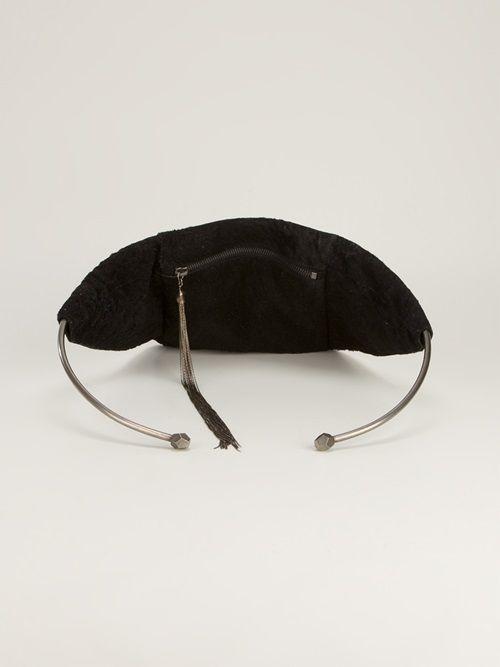 - Barbara Boner Chain Tassel Bag -  Shop it on dolcitrameshop.com #black #barbaraboner #bag #womens #farfetch #dolcitrame #dolcitrameshop #fashion #newarrivals #collection #aw13