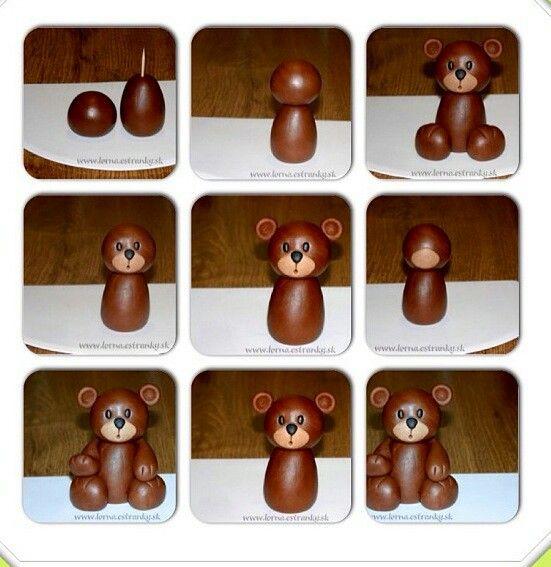 Teddy bear fondant tutorial