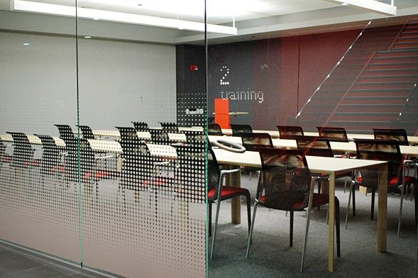 Morningstar / meeting room glass graphics