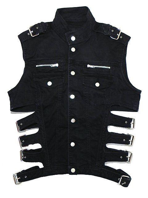 lastmove:    KTZ black denim vest