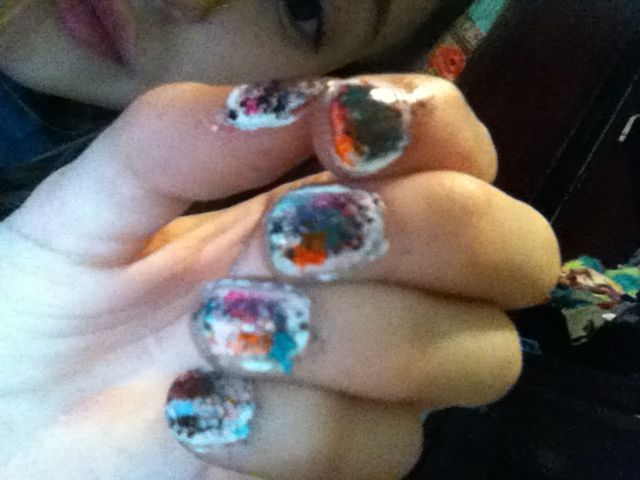 Oops Bad Nail Art Day Nailartfail Nail Art Fail Bad Nails Nail Art Art Day