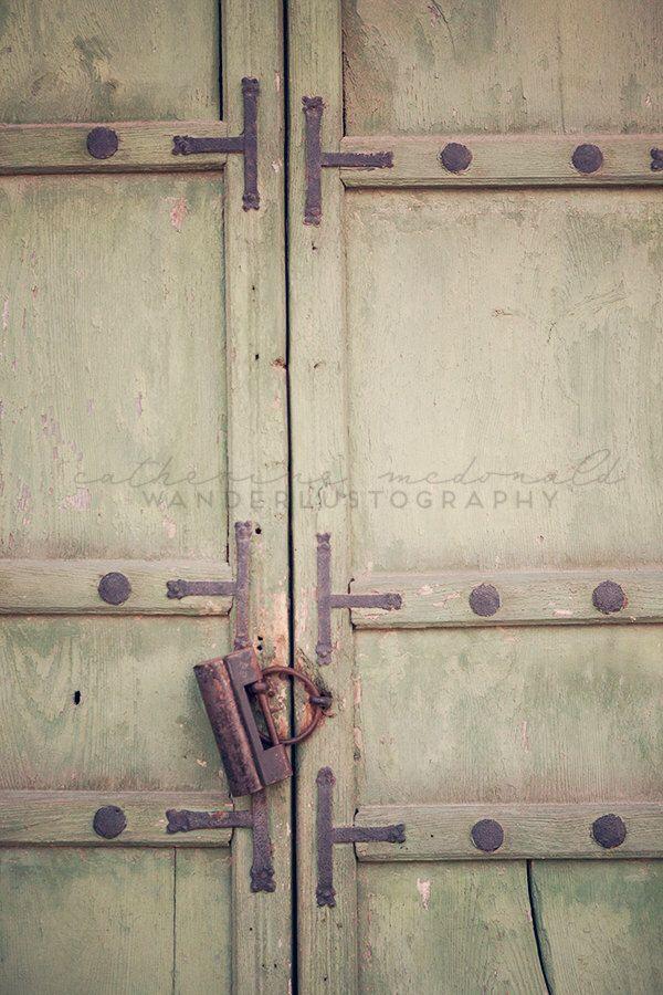 Travel Print, Korea Photography, Jade Door, Antique,  Rustic, Seoul Photograph, Old World, Gyeongbokgung Palace, by wanderlustography on Etsy https://www.etsy.com/listing/177756430/travel-print-korea-photography-jade-door