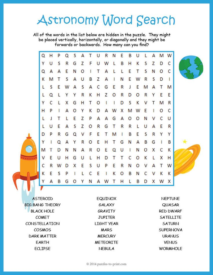 astronomy word puzzles -#main