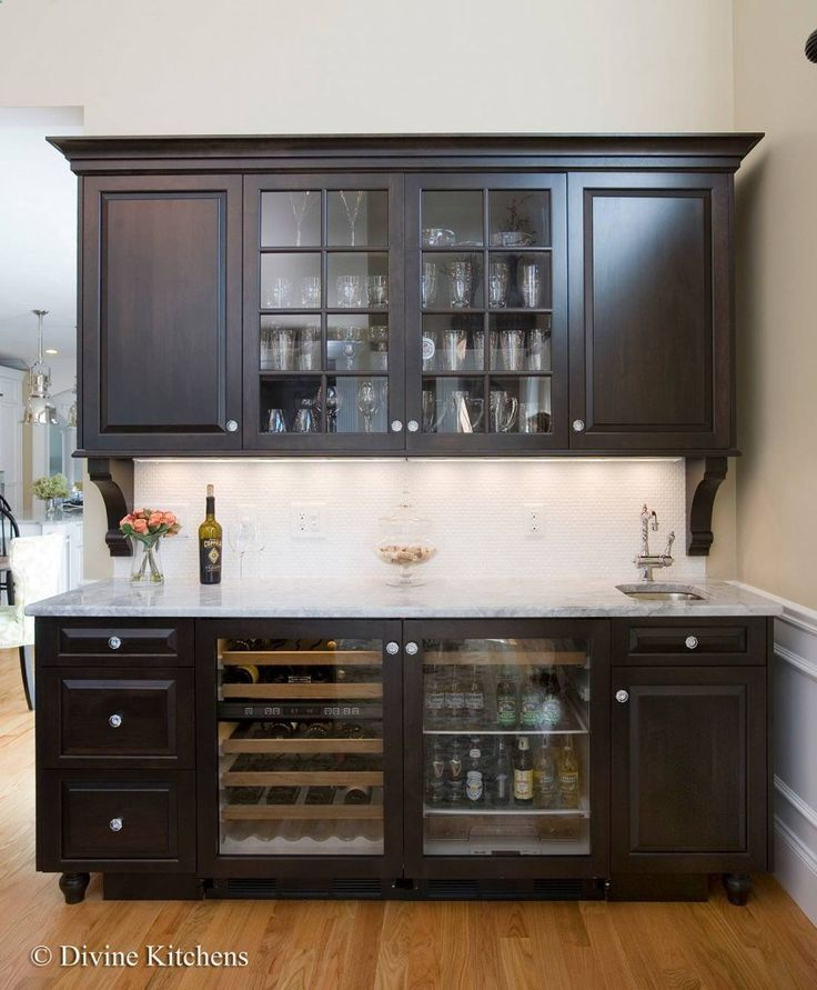 Best 25 wine fridge ideas on pinterest wine storage for Wet bar cabinet ideas