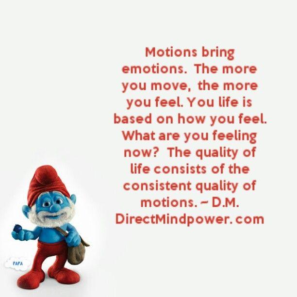 #MotionsBringEmotions