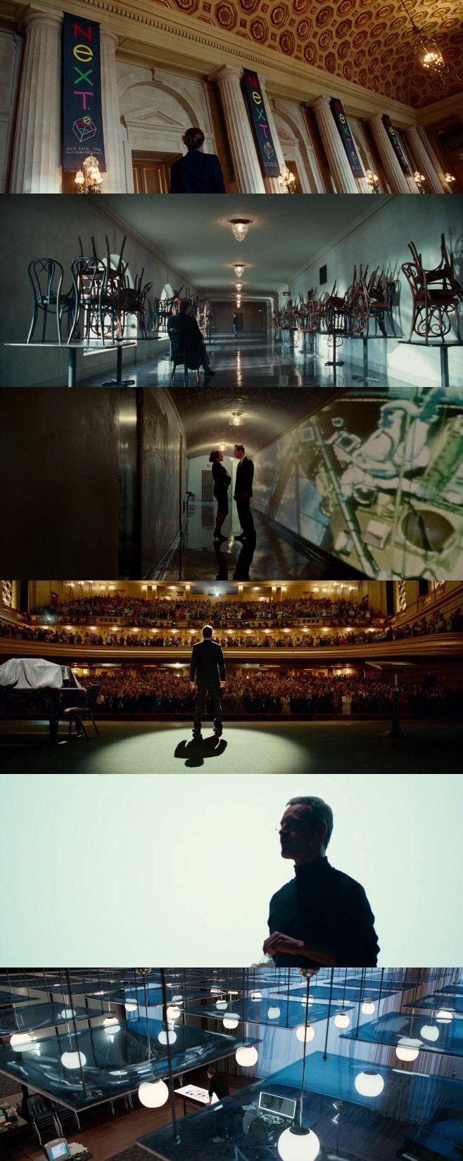 Steve Jobs (2015) Director: Danny Boyle. Photography: Alwin H. Küchler.
