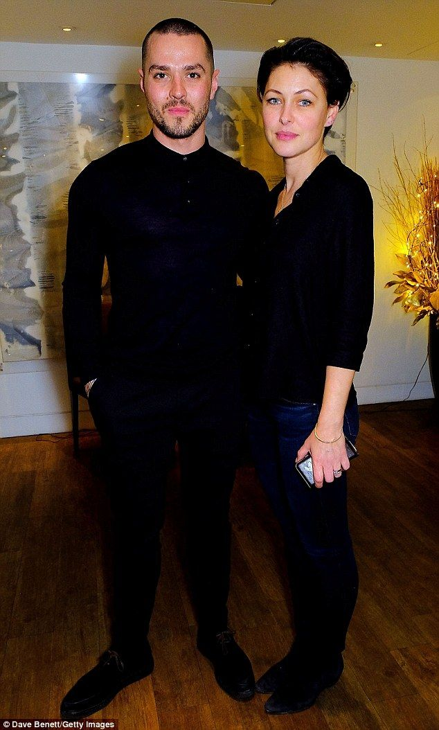 Cinema date: Emma Willis was enjoying a welcome date night with husband Matt as they attended a VIP screening of Lion, hosted by Harvey Weinstein at One Aldwych in London on Wednesday night
