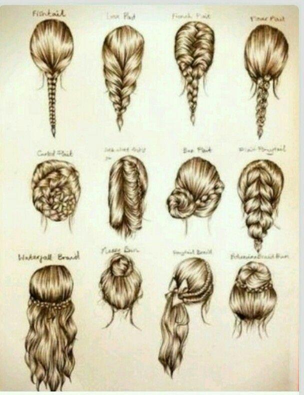 10 mejores imágenes de peinados dibujados en pinterest
