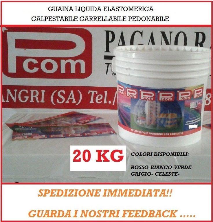 20kg Guaina Liquida Pedonabile Carrellabile