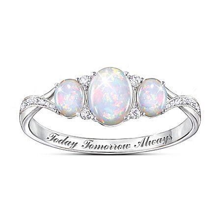 Light Of Our Love Australian Opal Ring