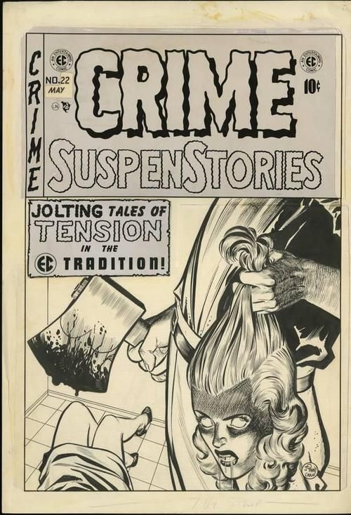 Crime Suspenstories. EC Comics. Jack Davis