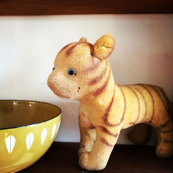 Vintage tiger toy