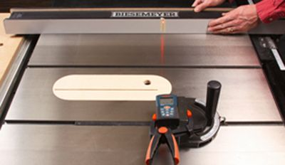 How to Square Your Table Saws Miter Gauge by Using Your Laser Level. Rockler.com