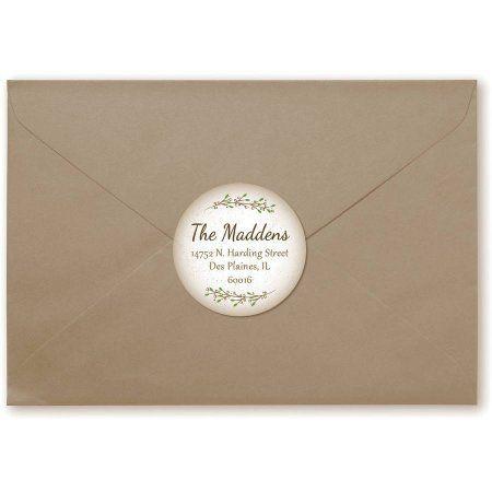 My Address Personalized Return Address Labels