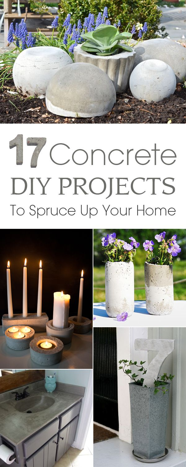 17 Simple Concrete DIY Projects To Spruce