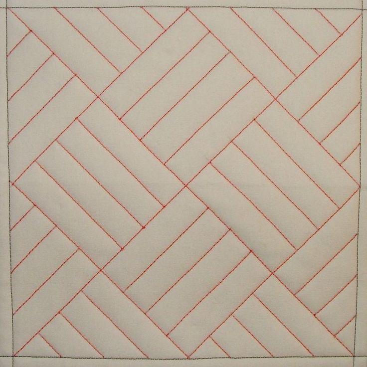 MQ1 Straight Line Grid - tutorials on how to machine quilt