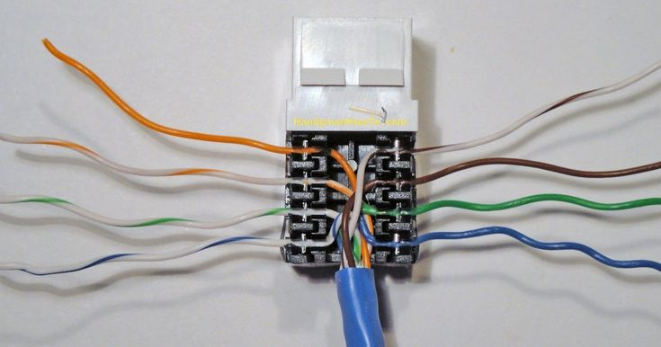 New Wiring Diagram For Home Phone Jack, Rj45 Wall Jack Wiring Diagram