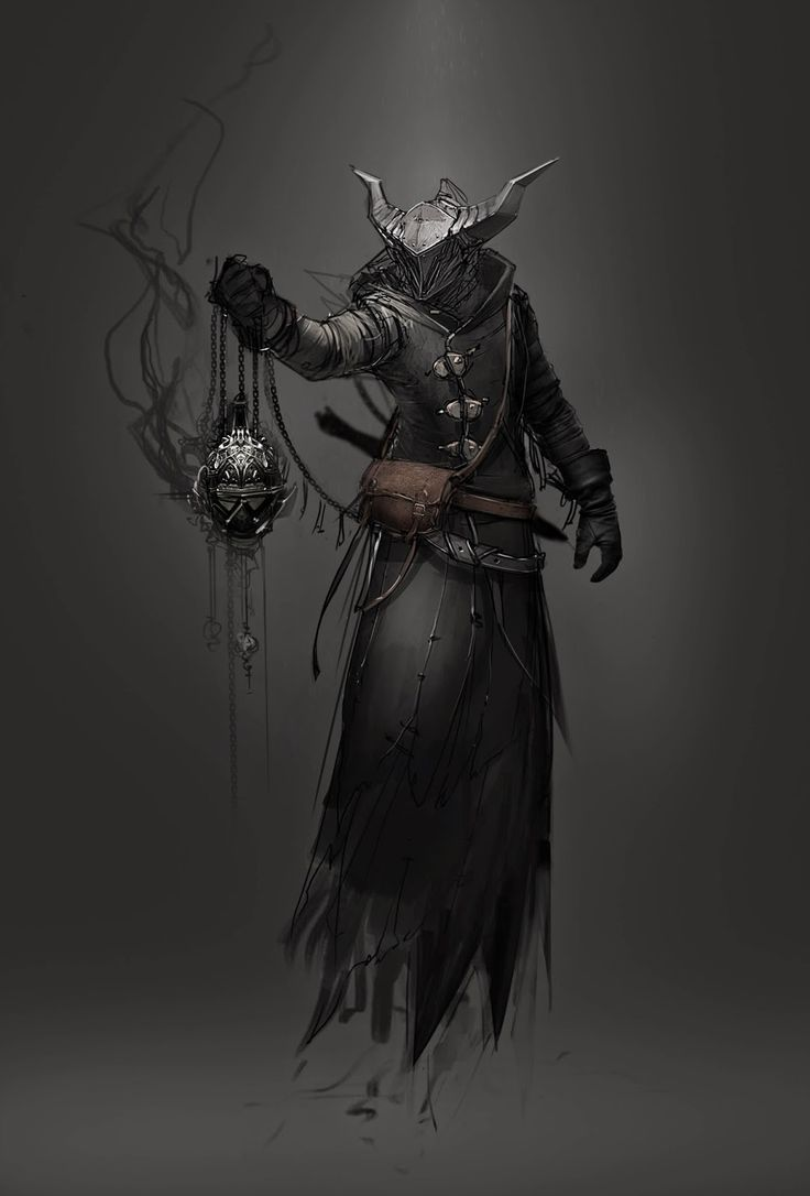 This is a digitally drawn concept art of a Hive Wizard from Destiny. The thing I like about this concept artwork is how the artist has included a light source above the character, and then shown how the light hits the character by showing lighter and darker areas on the character: