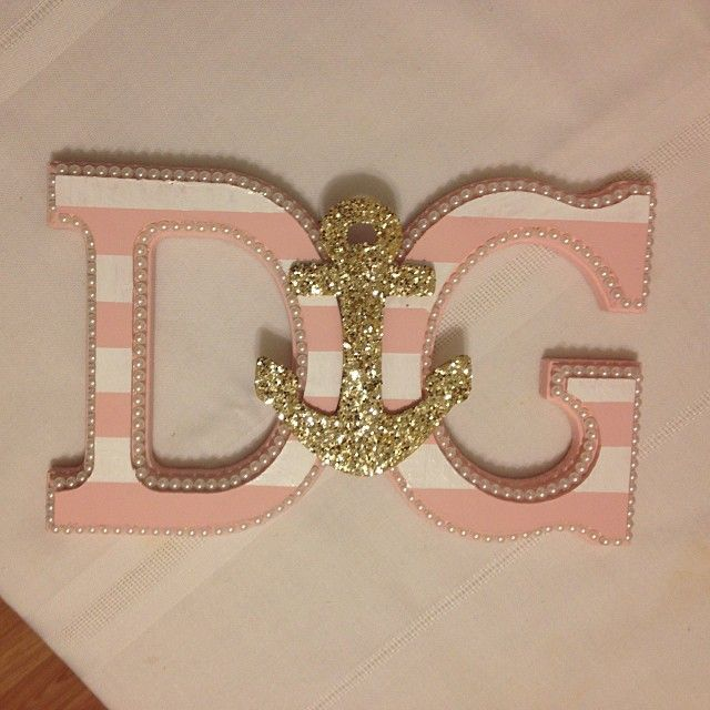 How adorable are these DIY DG letters?!