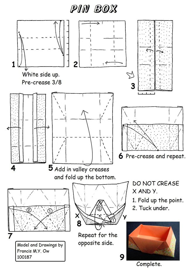 657 best Origami: Box, Envelope, Dish images on Pinterest