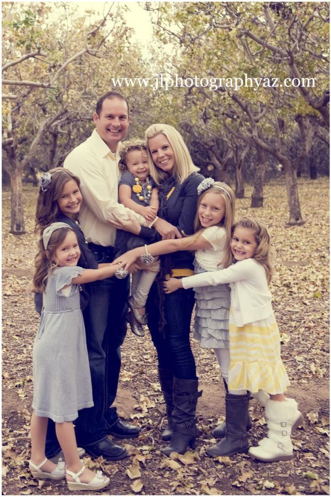 cute family of 7 photos