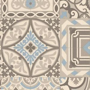 Details about moroccan style vinyl flooring sheet cushion for Cushion floor tiles kitchen