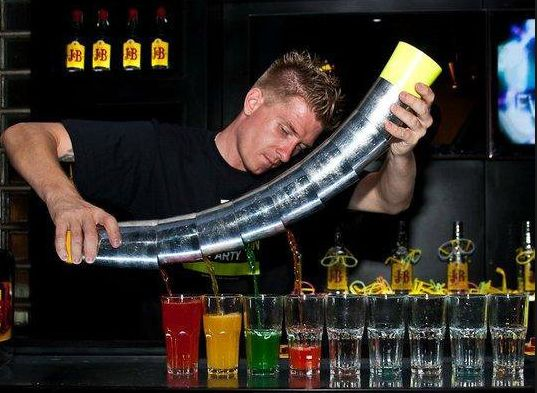 Make sure your event an attraction and book one of our skilled Flair Bartenders now!