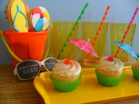 Summer Fun - Luau - Beach treats - Party Planning - Party Ideas - Cute Food - Holiday Ideas -Tablescapes - Special Occasions And Events - Party Pinching