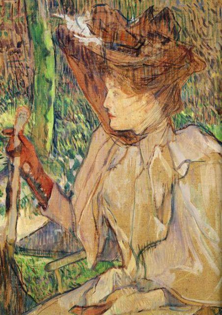 Γυναίκα με το γάντι (1891)