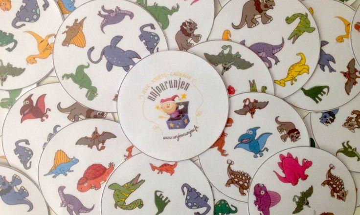Dobble Dino à imprimer : un super jeu de dinosaures totalement grrrr