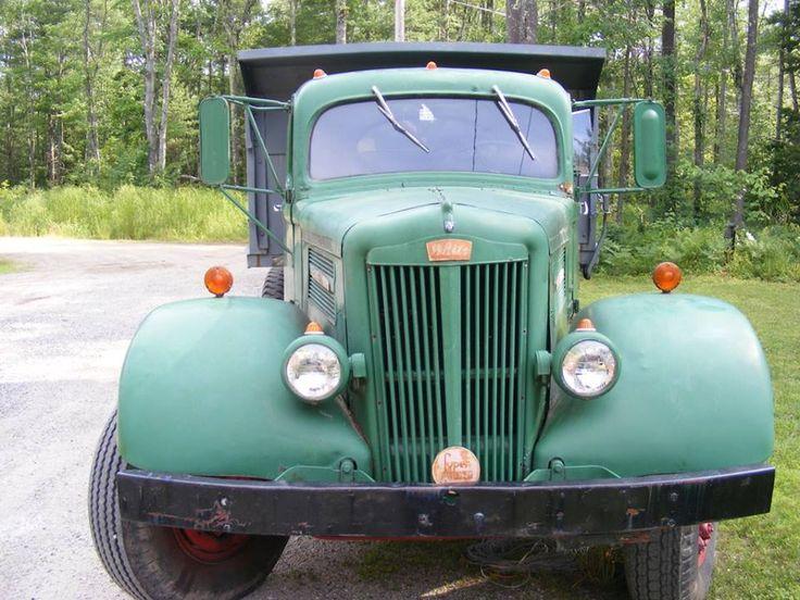 1940 White Motor Company Wa 22 Dump Truck Old Trucks