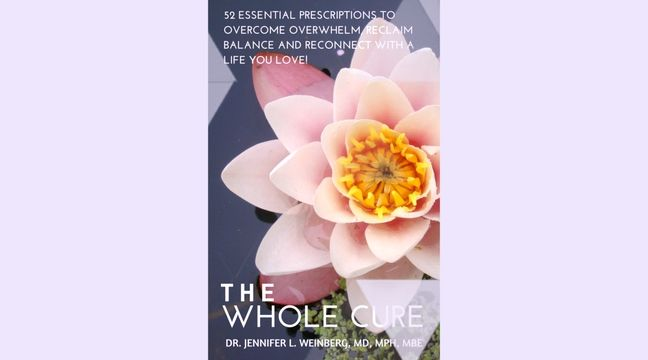 In The Whole Cure, Dr. Weinberg provides a complete toolkit for creating subtle shifts and radical changes in your outlook and habits! Each chapter introduces a core inspirational concept for a fulfilled, authentic and balanced life. As you complete these 52 prescriptions, you can expect incredible transformation and long-lasting impacts. Learn more at www.JenniferWeinbergMD.com/wholecure & get your free chapters  http://ow.ly/BkOLL