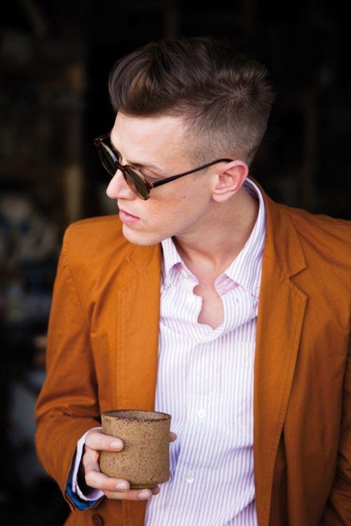 burnt orange blazer: Men Clothing, Menfashion, Men Hair, Man Hair, Fashion Style, Burnt Orange, Men Fashion, Sports Coats, Orange Blazers