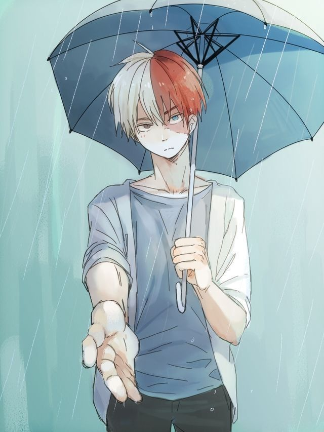 Todoroki X male reader - Chapter 5: Past (well not the whole