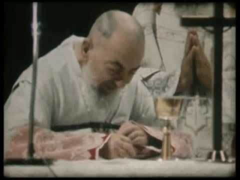 The Last Mass of St. Pio of Pietrelcina on September 22, 1968, the day before his death.